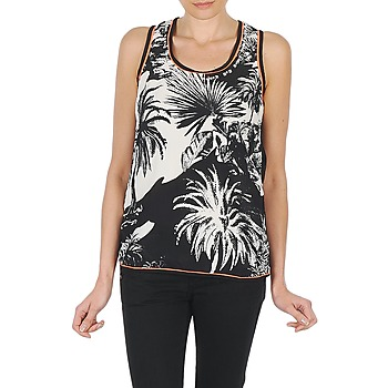 T-shirts & Polos Derhy EDEN Noir/Blanc 350x350