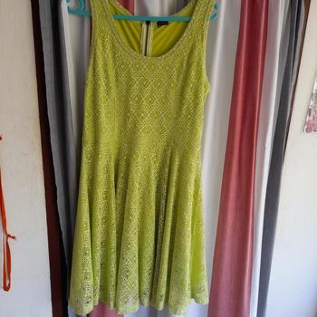 Vêtements Femme Robes courtes Boutiques indépendante Robe patineuse Vert