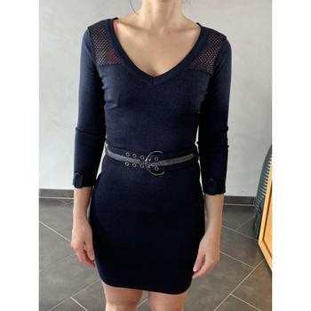Vêtements Femme Robes courtes Morgan Robe Morgan Bleu