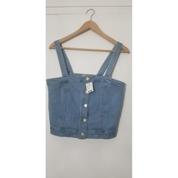 Vêtements Femme Tops / Blouses Pimkie Top en jean Bleu