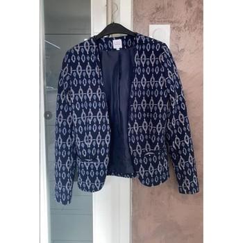 Vêtements Femme Vestes / Blazers La Halle BLAZER BLEU MARIN Bleu