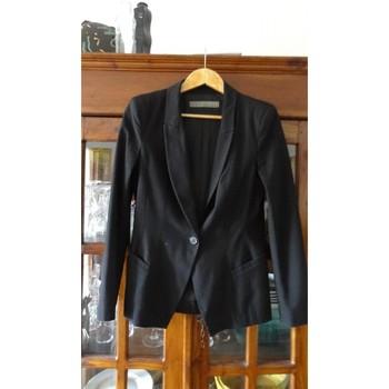 Vêtements Femme Vestes / Blazers Zara veste ZARA noire taille L Noir