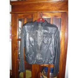 Vêtements Femme Blousons Kookai blouson femme en cuir KOOKAI taille 40 Noir