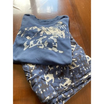 Vêtements Garçon Pyjamas / Chemises de nuit Calida pygama enfant 13/14 ans Bleu