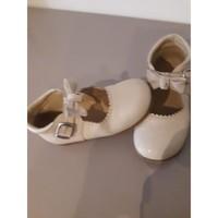 Chaussures Fille Ballerines / babies Lola babies fille cuir Beige