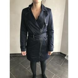 Vêtements Femme Trenchs Morgan Trench-coat morgan Bleu