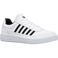 Chaussures Homme Baskets basses K-Swiss Court Chasseur Blanc