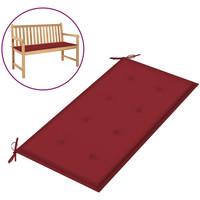Maison & Déco Galettes de chaise VidaXL Coussin de banc 100 x 50 x 4 cm Rouge