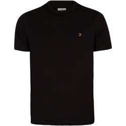 Vêtements Homme T-shirts manches courtes Farah Vintage T-shirt Danny noir