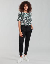 Vêtements Femme Chinos / Carrots Vero Moda VMEVA Noir