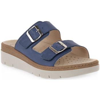 Chaussures Femme Mules Grunland JEANS 68 MOLL Blu
