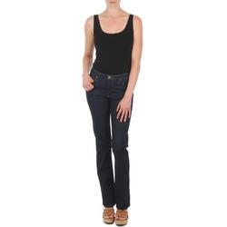 Vêtements Femme Jeans droit Lee MARION STRAIGHT Bleu