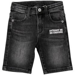 Vêtements Garçon Shorts / Bermudas Interdit De Me Gronder BLACKY Noir