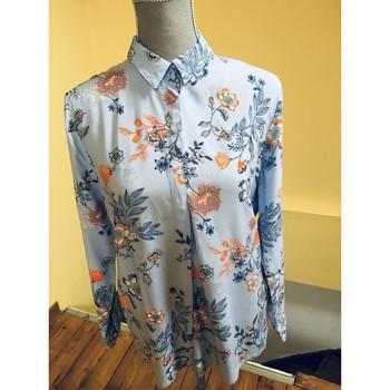 Vêtements Femme Chemises / Chemisiers Sans marque Joli chemisier fleuri Multicolore