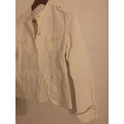 Vêtements Femme Vestes / Blazers Eden Park Vend veste en très bonne état taille 44 Blanc