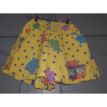 Vêtements Fille Shorts / Bermudas Naf Naf Jupette short colorée fille Multicolore
