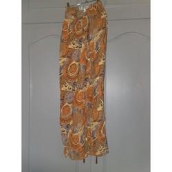 Vêtements Femme Pantalons fluides / Sarouels Sans marque Pantalon fluide Multicolore