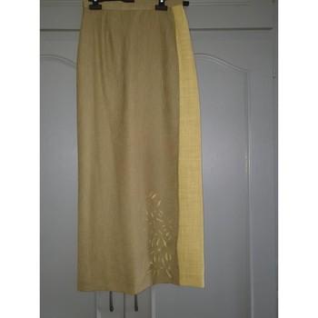 Vêtements Femme Jupes Sans marque Très belle jupe longue bicolore porte-feuille Vert