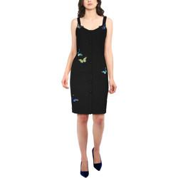Vêtements Femme Robes courtes Chic Star 86340 Noir
