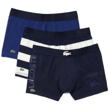 Sous-vêtements Homme Boxers Lacoste Pack 3 Boxers$SKU Bleu