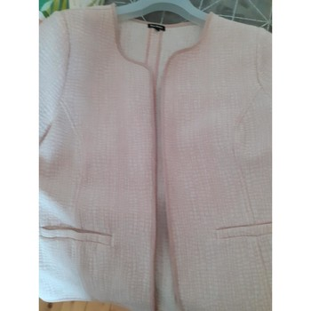 Vêtements Femme Vestes / Blazers Esprit veste courte Rose