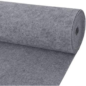 Parures de lit Tapis Vidaxl 1.6 x 10 m Gris