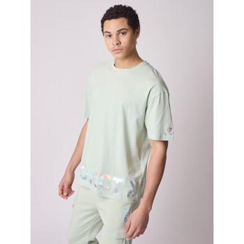 Vêtements Homme T-shirts manches courtes Project X Paris Tee Shirt Vert d'eau