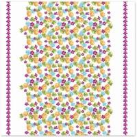 Maison & Déco Nappe Le Monde Des Animaux Nappe en coton Exotic 150 x 150 cm Multicolore