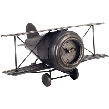 Maison & Déco Horloges Signes Grimalt Horloge Avion Tabletop Negro