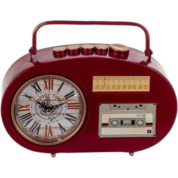 Maison & Déco Horloges Signes Grimalt Horloge Transistor Tabletop Rojo