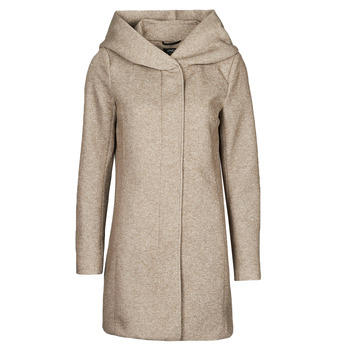 Vêtements Femme Manteaux Only ONLSEDONA Marron