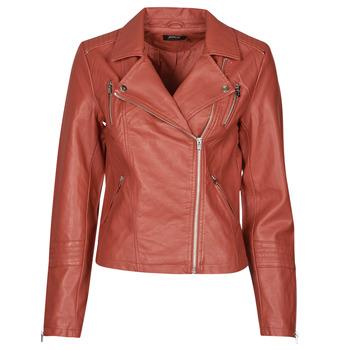 Vêtements Femme Vestes en cuir / synthétiques Only ONLGEMMA Rouge