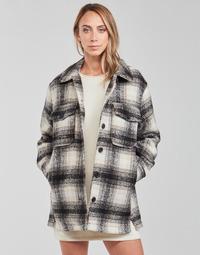 Vêtements Femme Vestes / Blazers Only ONLALLISON Noir / Ecru