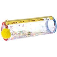 Sacs Enfant Trousses Oberthur Trousse  Confettis transparente Pompon jaune Multicolor