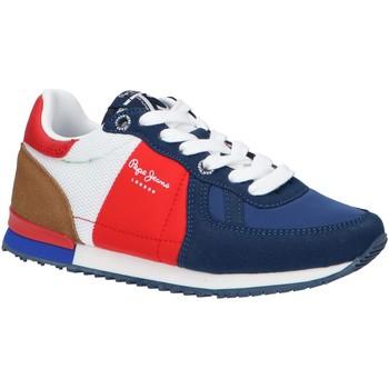 Chaussures Enfant Multisport Pepe jeans PBS30487 SYDNEY Azul