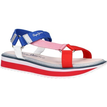 Chaussures Femme Sandales et Nu-pieds Pepe jeans PGS90158 ALEXA TREK Rojo