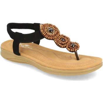 Chaussures Femme Sandales et Nu-pieds H&d YZ19-319 Negro