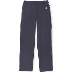 Vêtements Homme Pantalons de survêtement Honcelac Pantalon de détente en molleton gratté marine