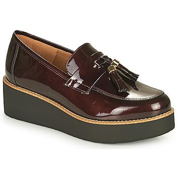 Chaussures Femme Mocassins Fericelli JOLLEGNO Bordeaux