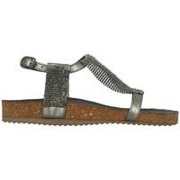 Chaussures Femme Sandales et Nu-pieds Santafe BIO ATHENA Gris