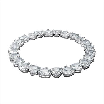 Montres & Bijoux Femme Colliers / Sautoirs Swarovski Collier  Millenia All Ard Blanc