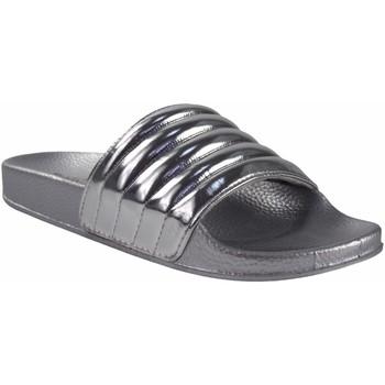 Chaussures Femme Mules Kelara Dame de plage  K12020 argent Argenté