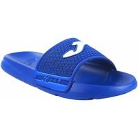 Chaussures Fille Claquettes Joma Garçon de plage  island junior 2104 bleu Bleu