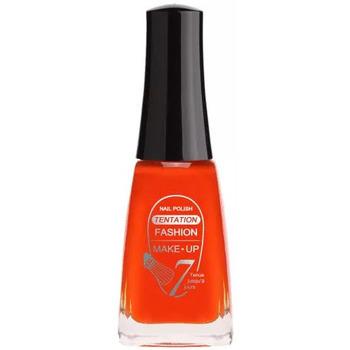 Beauté Femme Vernis à ongles Fashion Make Up Fashion Make-Up - Vernis à Ongles Tentation n°04 - 11ml... Rouge