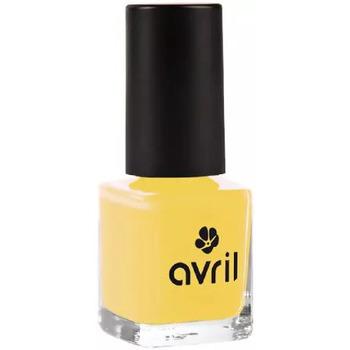 Beauté Femme Vernis à ongles Avril Avril - Vernis à ongles curry n°680 - 7ml Jaune