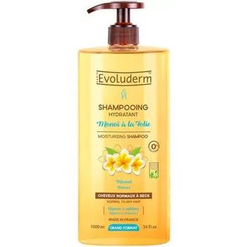 Beauté Shampooings Evoluderm Shampooing Hydratant monoï à la Folie   1L Autres