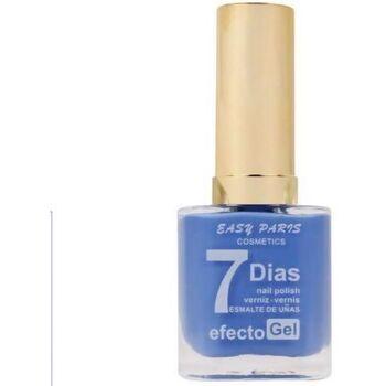 Beauté Femme Vernis à ongles Easy Paris Vernis à ongles effet Gel n°105   13ml Bleu