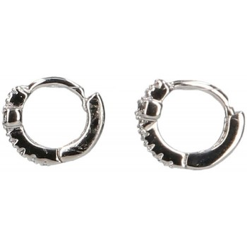 Montres & Bijoux Femme Boucles d'oreilles Luna Collection 45080 Argenté