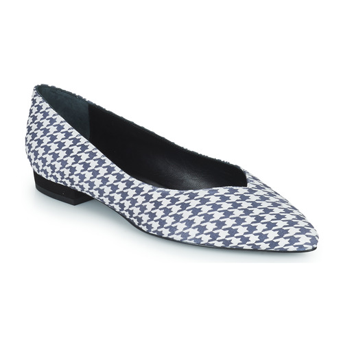 Chaussures Femme Ballerines / babies JB Martin VERONICA Blanc