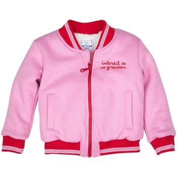 Vêtements Fille Sweats Interdit De Me Gronder PINKY Rose